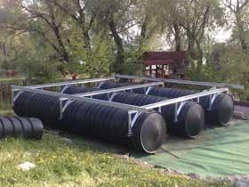 Plastični pontoni