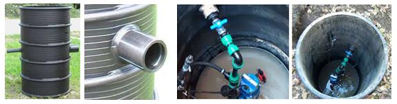 plastične šahte za kanalizaciju pod pritiskom